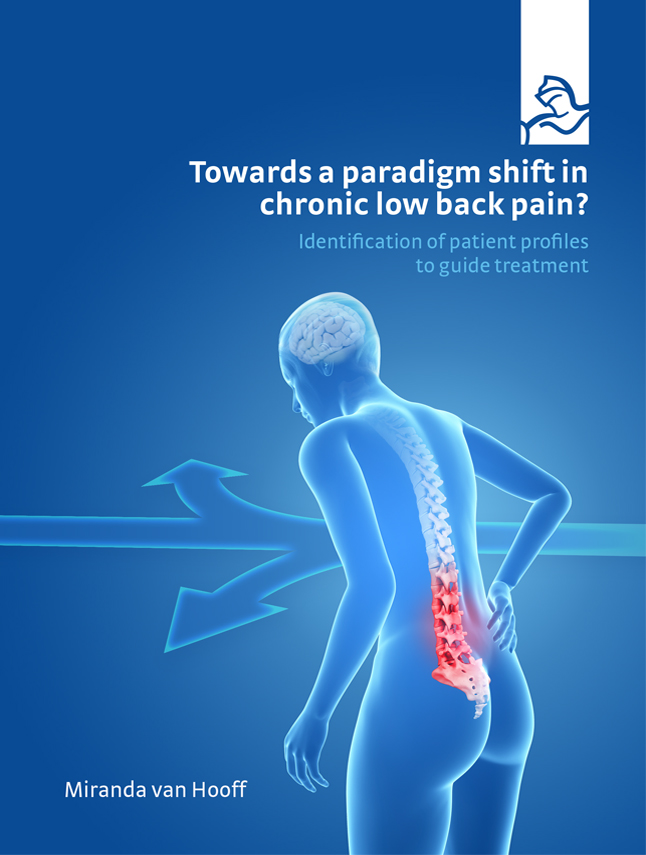 Towards a paradigm shift in chronic low back pain?