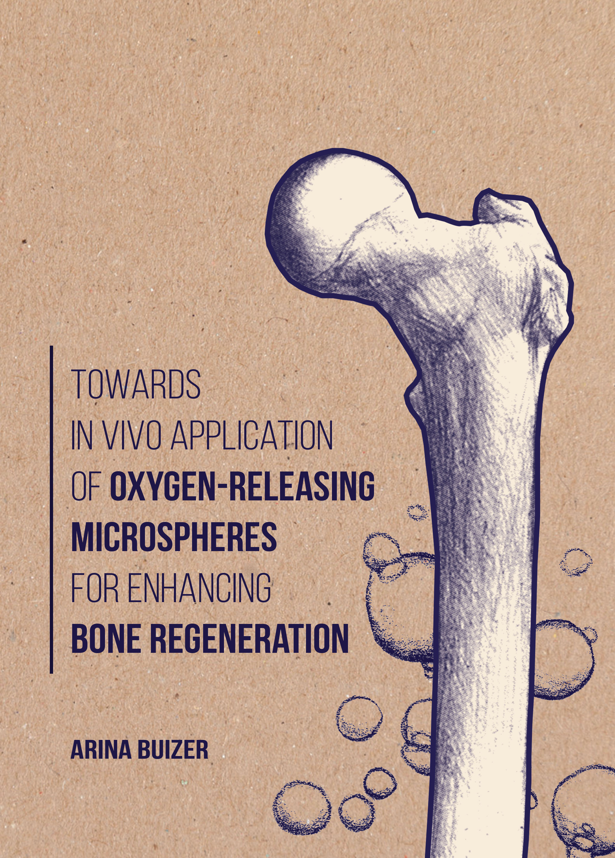 Towards in vivo application of oxygen-releasing microspheres for enhancing bone regeneration
